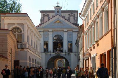 Ostra Brama – kaplica Ostrobramska