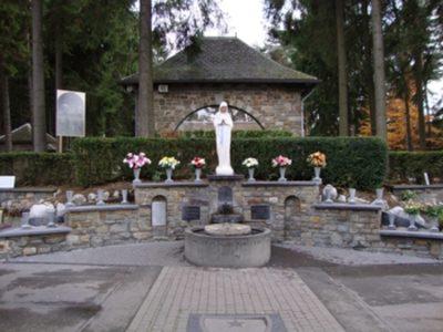 Sanktuarium Matki Bozej ubogich w Banneux