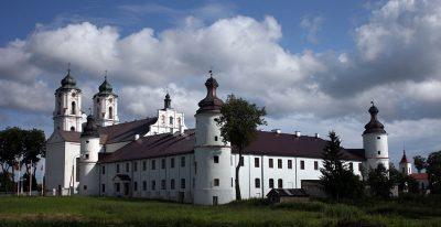 Widok na kościół i klasztor