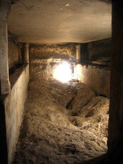 Wnętrze grobowca