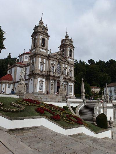 Sanktuarium Bom Jesus do Monte w Bradze