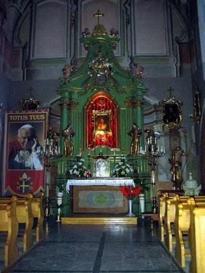 Kaplica Pana Jezusa Miłosiernego z obrazem