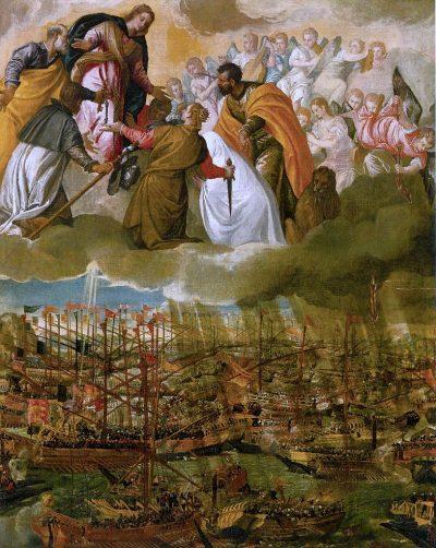 Bitwa pod Lepanto autora Paolo Veronese