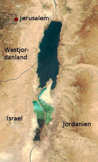 Morze Martwe w 2000