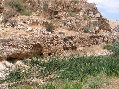 Nahal Prat pomiędzy Ein Prat oraz Ein Mabua