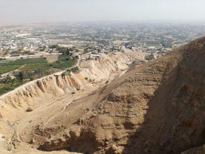 Jerycho, widok z Góry Kuszenia