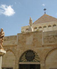 Kościół św. Katarzyny i groty pod nim w Betlejem