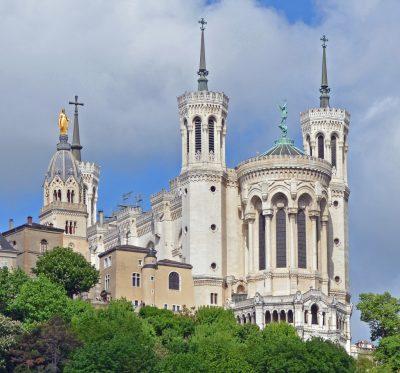 Bazylika Notre-Dame de Fourvière w Lyonie