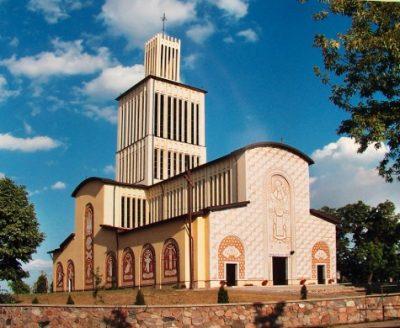 Sanktuarium Trójcy Przenajświętszej i świętej Anny w Prostyni