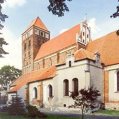 Sanktuarium Matki Bożej Łąkowskiej w Nowym Mieście Lubawskim