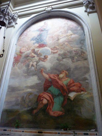 Obraz objawienie św. Jana