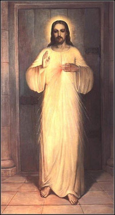 Obraz Serca Jezusa Miłosiernego